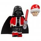 Minifigure Darth Vader Christmas Santa Star Wars