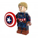 Minifigure Captain America Avengers Marvel Super Heroes