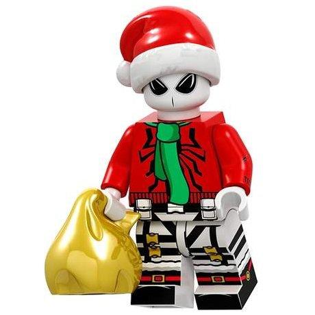 Minifigure Anti-Venom Christmas Santa Marvel Super Heroes