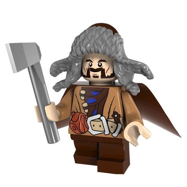 Minifigure Bofur Dwarf Lord Of The Rings Hobbit