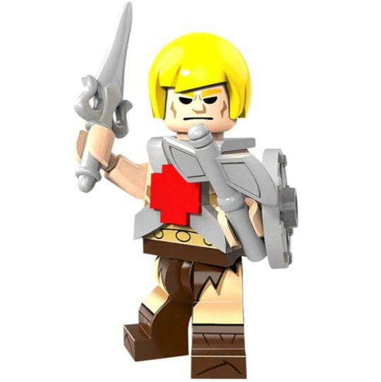 Minifigure He-Man Masters of the Universe
