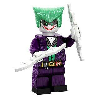 Minifigure Joker Telltale DC Comics Super Heroes
