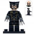 Minifigure Wolverine X-Men Marvel Super Heroes Compatible Lego