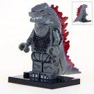 Minifigure Godzilla Grey Compatible Lego