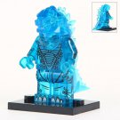 Minifigure Godzilla Transparent Blue Compatible Lego