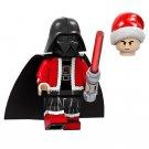 Minifigure Darth Vader Christmas Santa Star Wars Compatible Lego
