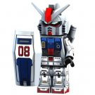 Minifigure Gundam RX79G Anime Movie Compatible Lego