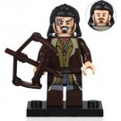Minifigure Bard the Bowman Lord Of The Rings Hobbit Compatible Lego