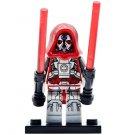 Minifigure Sith Warrior Star Wars Compatible Lego