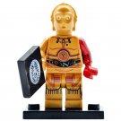 Minifigure C-3PO Protocol Droid Star Wars Compatible Lego