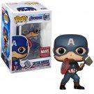 Captain America Avengers Endgame №481 Marvel Comics Funko POP! Action Figure Vinyl PVC Toy