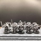 10pcs Chaos Warriors Warhammer Resin Models 1/32 scale Action Figures Toys Hobby Games