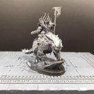 1pcs Chaos Lord on Karkadrak Fantasy Warhammer Resin Models 1/32 scale Action Figures Hobby Games