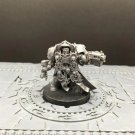1pcs Terminator Chaplain Space Marine Warhammer Resin Models 1/32 scale Action Figures Hobby Games
