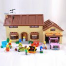 The Simpsons House Building Blocks Toys Compatible 71006 Lego