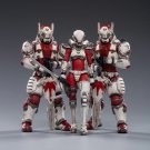 3pcs Saluk-White Flame Legion Battle For The Stars Action Figure 1/18 Anime Soldiers Toys