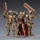 3pcs Saluk-Golden Legion Battle For The Stars Action Figure 1/18 Anime Soldiers Toys