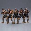 5pcs PLA Field Force USA Army Military Soldiers Action Figure 1/18 Anti-Terror Toys
