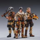 3pcs 45st Legion Wasteland Hunter Military Action Figure 1/18 Soldiers Anime Toys