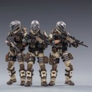 3pcs Desert Skull Field Squad Army Military Action Figure 1/18 Soldiers Anime JoyToy