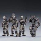 4pcs The 20th Army Viper Squad Army Anti-Terror Action Figure 1/18 Anime Soldiers Toys JoyToy