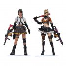 2pcs Crossfire CF Game Female Women Girls Models Action Figure 1/18 Anime Soldiers Toys