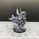 1pcs Terminator Lord Chaos Space Marine Warhammer Resin Models 1/32 scale Action Figures