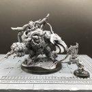 1pcs Ghazghkull Mag Uruk Thraka Ork Warlord Goff Klan Xenos Armies Warhammer Resin Models 1/32 scale