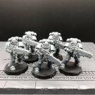 5pcs Hellblasters Squad Primaris Space Marine Warhammer Resin Models 1/32 scale Action Figures