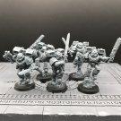 5pcs Vanguard Veteran Squad Space Marine Warhammer Resin Models 1/32 scale Action Figures