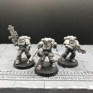 3pcs Intercessor Squad Primaris Space Marine Warhammer Resin Models 1/32 scale Action Figures