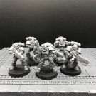 5pcs Hellblasters Squad Primaris Space Marine Warhammer Resin Models 1/32 scale Action Figures