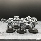 5pcs Reivers Squad Primaris Space Marine Warhammer Resin Models 1/32 scale Action Figures