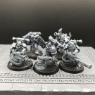 5pcs Havocs Chaos Space Marines Warhammer Resin Models 1/32 scale Action Figures
