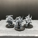 3pcs Plague Marines Reinforcements Death Guard Traitor Chaos Space Marines Warhammer Models 1/32