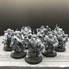 7pcs Plague Marines Death Guard Traitor Legion Warhammer Resin Models 1/32 Action Figures