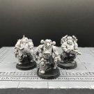 3pcs Plague Marines Death Guard Traitor Legion Chaos Space Marines Warhammer Models 1/32
