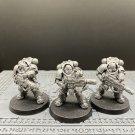 3pcs Eradicator Squad Primaris Space Marine Warhammer Resin Models 1/32 scale