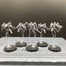 5pcs Seraphim Squad Adepta Sororitas Martyred Lady Imperial Guard Warhammer Resin Models 1/32