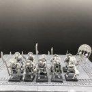 10pcs Tomb Guard Tomb Kings Skeleton Warriors Fantasy Warhammer Resin Models 1/32 Action Figures