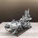 1pcs Lion Chariots White Lions of Chrace High Elves Total War Fantasy Warhammer Resin Models 1/32
