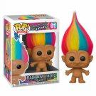 Rainbow Troll Good Luck Trolls №01 Funko POP! Movie Cartoon Action Figure Vinyl PVC Toy