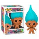 Teal Troll Good Luck Trolls №02 Funko POP! Movie Cartoon Action Figure Vinyl PVC Toy
