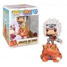Jiraiya on Toad Naruto №73 Funko POP! Anime Movie Cartoon Action Figure Vinyl PVC Toy
