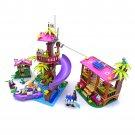 Jungle Rescue Base Friends Building Blocks Toys Compatible 41038 Lego