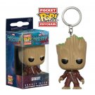 Groot Guardians of the Galaxy Marvel Super Heroes Funko POP! Keychain Action Figure Minifigure Toy