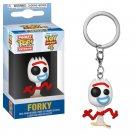 Forky Toy Story Disney Pixar Funko POP! Keychain Action Figure Vinyl PVC Minifigure Toy