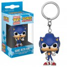 Sonic the Hedgehog Funko POP! Keychain Action Figure Vinyl PVC Minifigure Toy