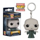 Lord Voldemort from Harry Potter Funko POP! Keychain Action Figure Vinyl PVC Minifigure Toy