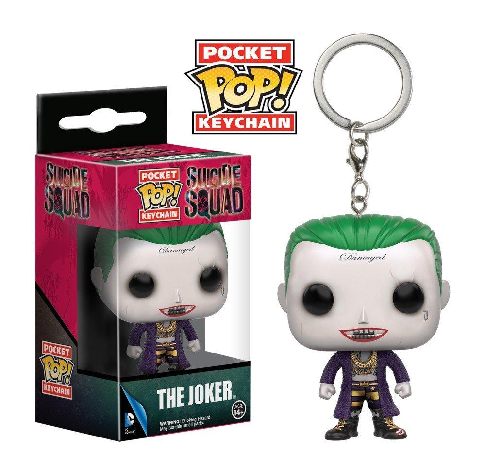 The Joker DC Comics Super Heroes Funko POP! Keychain Action Figure Vinyl PVC Minifigure Toy